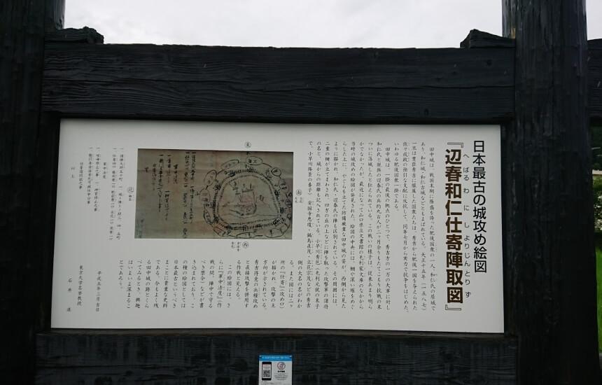 日本最古の城攻め絵図